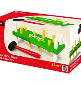 BRIO-Pounding-Bench-Green-and-Yellow-0