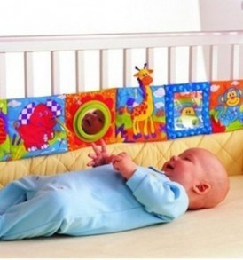 Baby-Infant-Kid-High-contrast-Puzzle-Zoo-Cloth-Book-Crib-Gallery-Toy-0