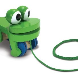 Melissa-Doug-Deluxe-Wooden-Frolicking-Frog-Pull-Toy-0