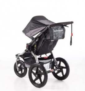 BOB-Revolution-SE-Single-Stroller-Black-0