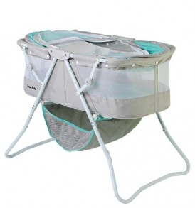 Dream-On-Me-Karley-Bassinet-Blue-and-Grey-0