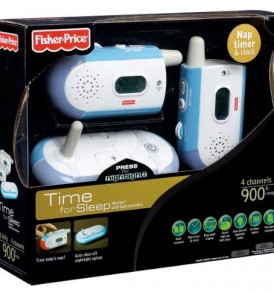 Fisher-Price-Time-for-Sleep-Monitor-with-dual-receivers-0