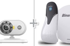 Motorola-MBP25-Wireless-Video-Baby-Monitor-and-Binatone-BabySense-5s-Baby-Movement-Sensor-Bundle-Pack-0