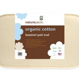 Naturepedic-No-Compromise-Organic-Cotton-Oval-Bassinet-Pad-0