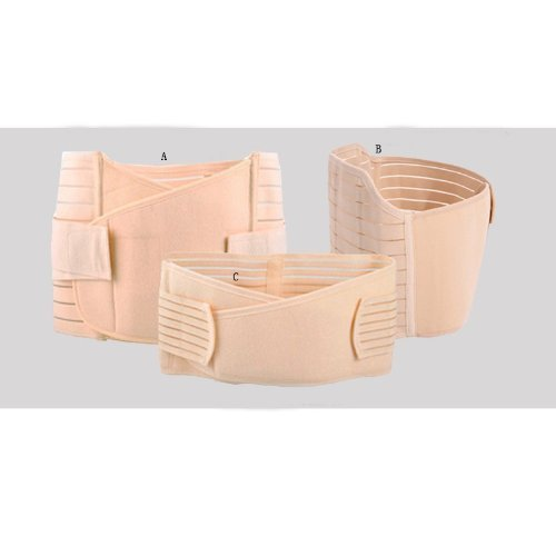 3-in-1-Breathable-Elastic-Postpartum-Postnatal-Recoery-Support-Girdle-Belt-for-Women-and-Maternity-0