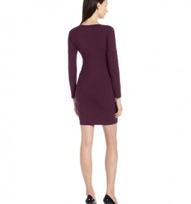 Jules-Jim-Womens-Maternity-Dress-With-Twist-Detail-Purple-Rain-Large-0