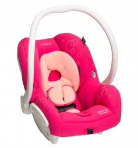 Maxi-Cosi-Mico-AP-Infant-Car-Seat-White-Collection-Passionate-Pink-0-12-Months-0