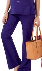 WorkWear-by-Cherokee-4208-Womens-Maternity-Knit-Waist-Pull-On-Pant-Navy-Small-0