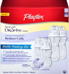 Playtex-BPA-Free-Premium-Nurser-Bottles-with-Drop-In-Liners-Gift-Set-0