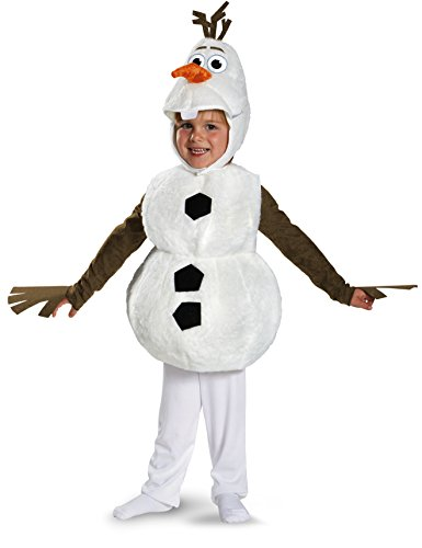 Disguise-Babys-Disney-Frozen-Olaf-Deluxe-Toddler-CostumeWhiteToddler-L-4-6-0
