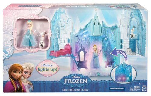 Disney-Frozen-Small-Doll-Elsa-and-Magical-Lights-Palace-Playset-0