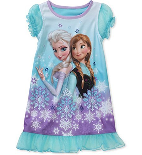 Disney-Frozen-Toddler-Girl-Anna-and-Elsa-Nightgown-18M-0