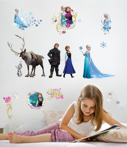 RoomMates-RMK2361SCS-Frozen-Peel-and-Stick-Wall-Decals-36-Count-0