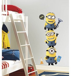 Roommates-Rmk2081Gm-Despicable-Me-2-Minions-Giant-Peel-And-Stick-Giant-Wall-Decals-0