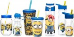 Zak-Designs-Tritan-Water-Bottle-with-Flip-top-Cap-and-Despicable-Me-2-Minions-Graphics-BPA-Free-25oz-0-4