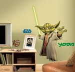 RoomMates-RMK1402GM-Star-Wars-the-Clone-Wars-Yoda-Glow-in-the-Dark-Giant-Wall-Decal-0-0