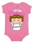 Star-Wars-Daddys-Little-Princess-Leia-Baby-Creeper-Romper-Snapsuit-Size-0-6-Months-0