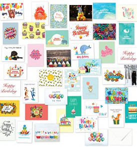 40-Birthday-Cards-Assortment-Happy-Birthday-Card-Bulk-Box-Card-Sets-for-Women-and-Men-Children-and-Adults-Blank-Cards-with-Envelopes-0