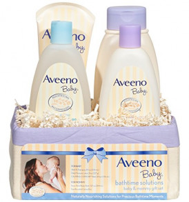 Aveeno-Baby-Daily-Bathtime-Solutions-Gift-Set-to-Nourish-Skin-for-Baby-and-Mom-4-items-0