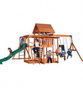 Backyard-Discovery-Monticello-All-Cedar-Wood-Playset-Swing-Set-0