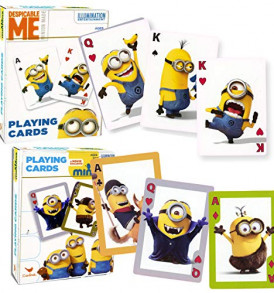 Card-Games-for-Kids-Standard-Size-Playing-Cards-Minions-2-Pack-0