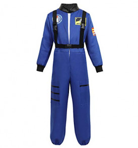 Childrens-Astronaut-Costume-Jumpsuit-Dress-up-Role-Play-Costume-for-Kids-Boys-Girls-Pretend-Play-Spaceman-Suit-Set-Blue-2XL-0