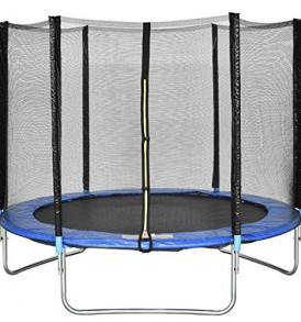 Giantex-Trampoline-Combo-Bounce-Jump-Safety-Enclosure-Net-WSpring-Pad-Ladder-8-FT-0