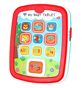 Infant-Toys-Baby-Tablet-Toys-Learning-Educational-Activity-Center-for-6-12-18-Month-up-Boys-and-Girls-with-Music-Light-ABC-Numbers-Color-Games-Baby-Toys-for-First-Birthday-0