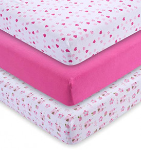 MY-Fitted-Crib-Sheets-3-Pack-Girls-52x28x9-in-0
