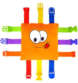 BUCKLE-TOY-Bizzy-Toddler-Early-Learning-Basic-Life-Skills-Childrens-Plush-Travel-Activity-0