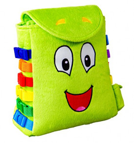 BUCKLE-TOY-Buddy-Backpack--Toddler-Early-Learning-Basic-Life-Skills-Childrens-Plush-Travel-Activity-0